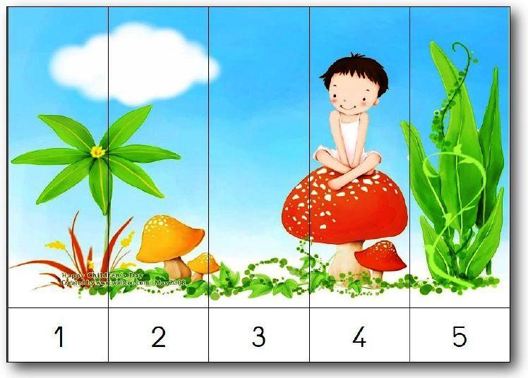 Populaire 40 puzzles numériques numérotés de 1 à 5, de 1 à 10, de 2 en 2  XO08