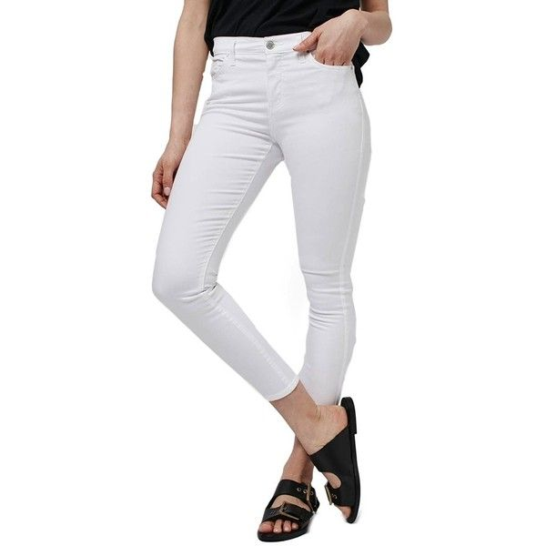 Petite Topshop 'Leigh' Ankle Skinny Jeans ($70) ❤ liked on ...