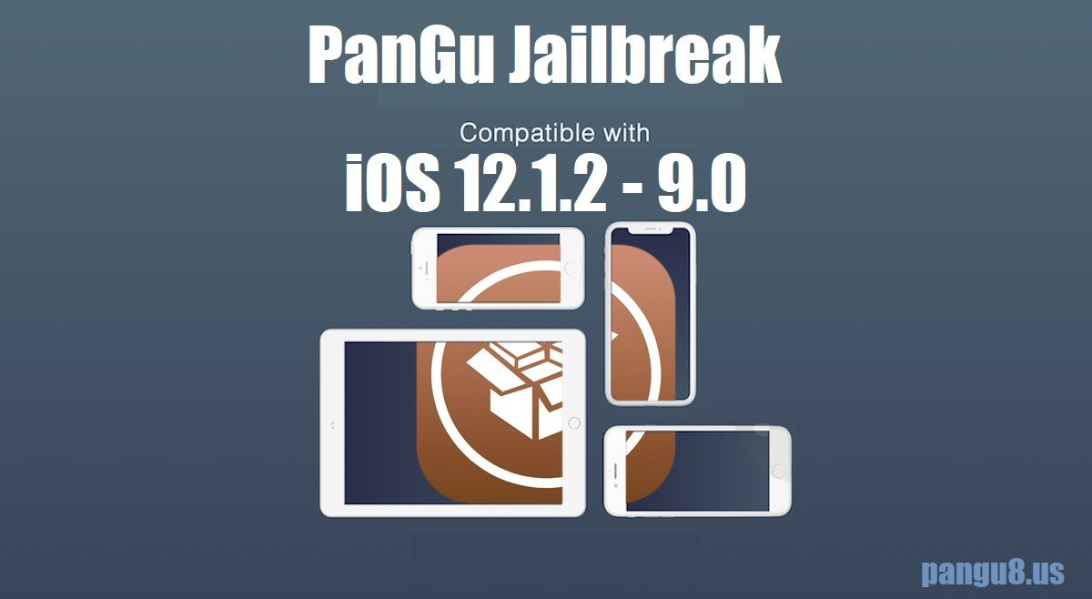 Now Pangu successfully available for a number of iOS versions and