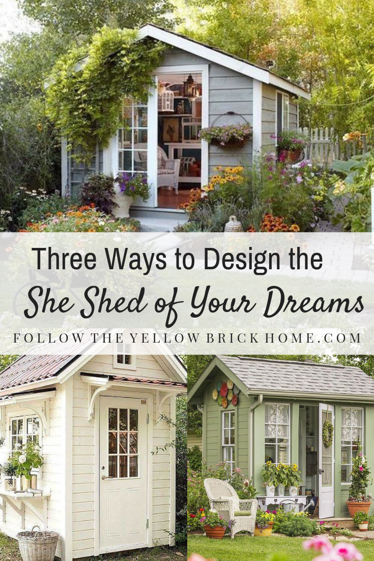 Have You Dreamed Of Designing Your Own She Shed Check Out This Post Full Of Beautiful She Shed Inspiration And Tips For Desig In 2020 She Shed Backyard Buildings Shed