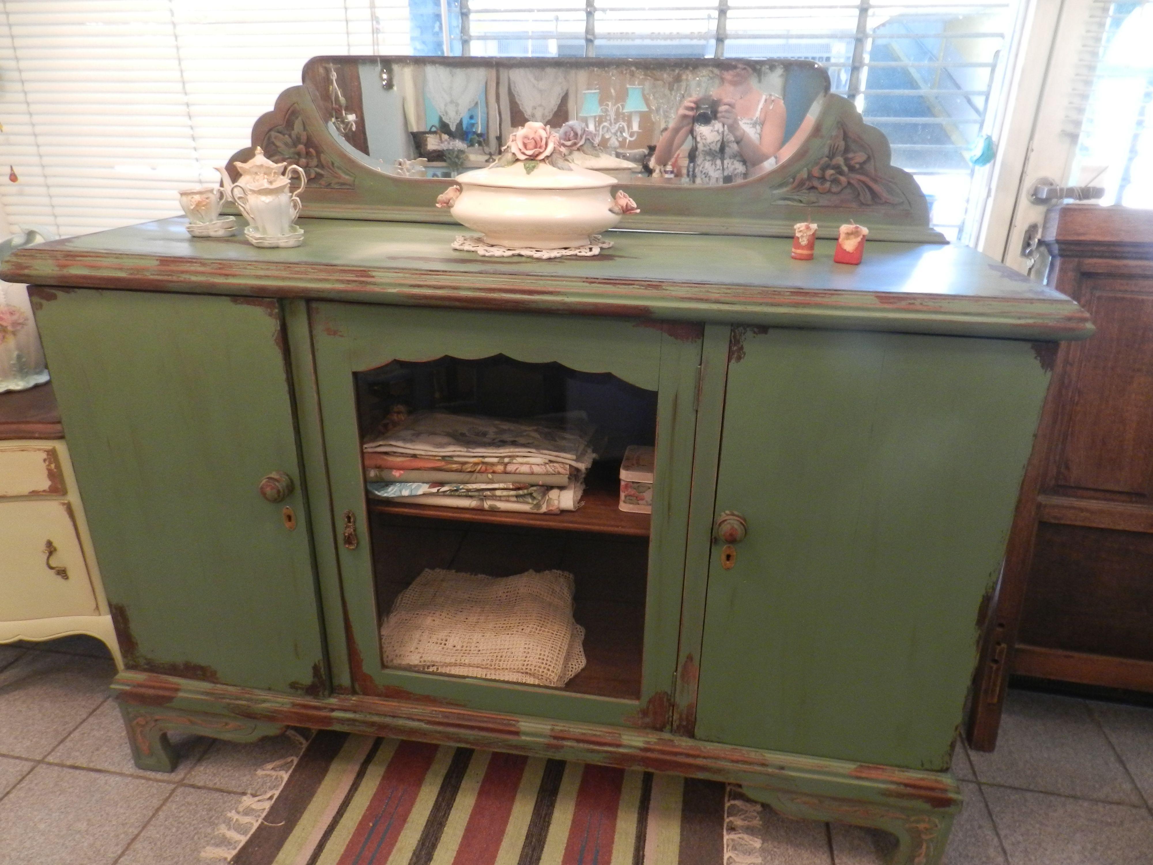 Mueble art deco decapado decap pinterest muebles - Mueble art deco ...