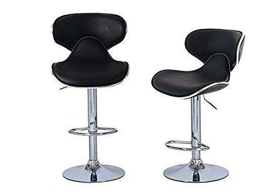 Superb This Bar Stool Is Designed With Elegance And Style In Mind. Sleek And  Smooth Silhouette, Polished Chrome Base, And Foam Cushioned Seat Make This Bar  Stool ...