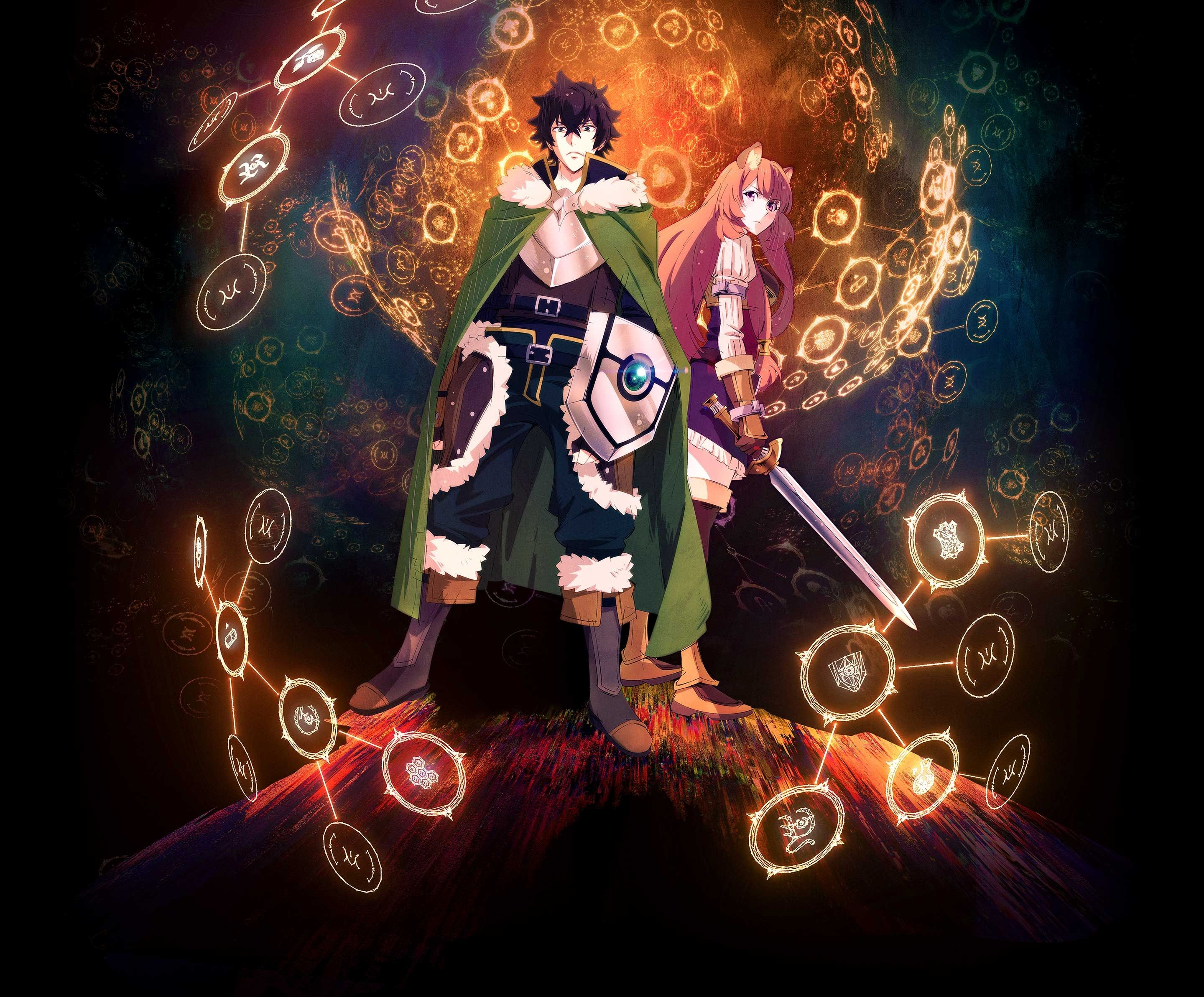 The Shield Hero Is Prepared For Battle For High Quality Anime