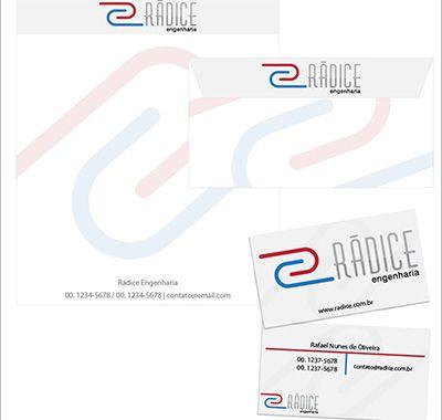 Proposta de logo + papelaria