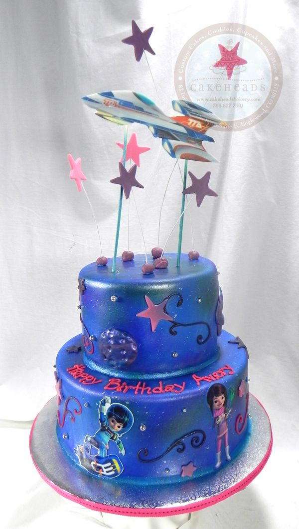 Miles From Tomorrowland Space Birthday Cake Kids Birthday