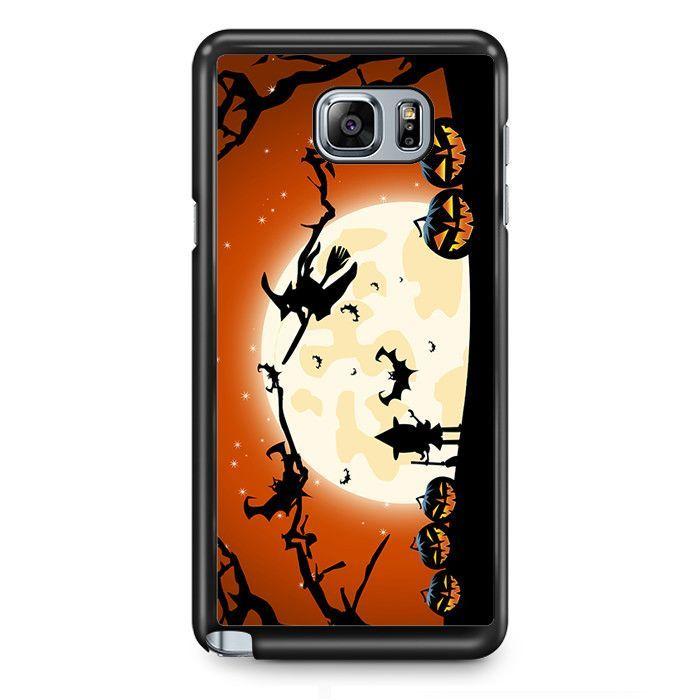Halloween Witch TATUM-4995 Samsung Phonecase Cover Samsung Galaxy Note 2 Note 3 Note 4 Note 5 Note Edge