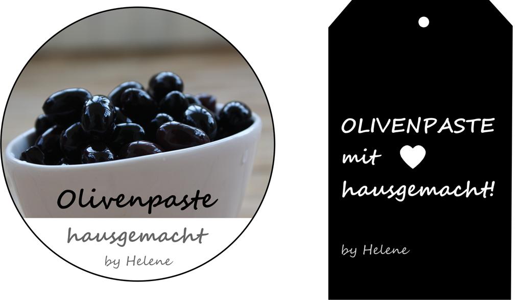 Etikette Olivenpaste
