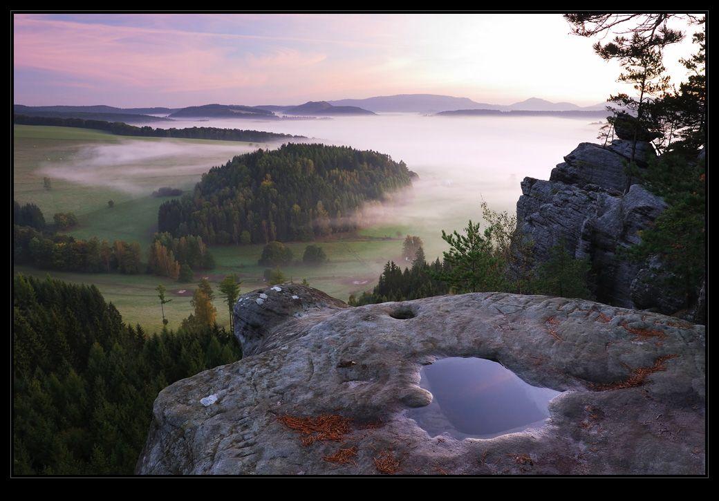 Ráno z Křížového vrchu