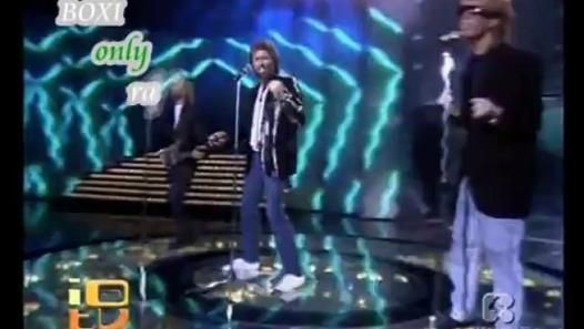 Watch the video «Bee Gees - You win again (TeleMike 87