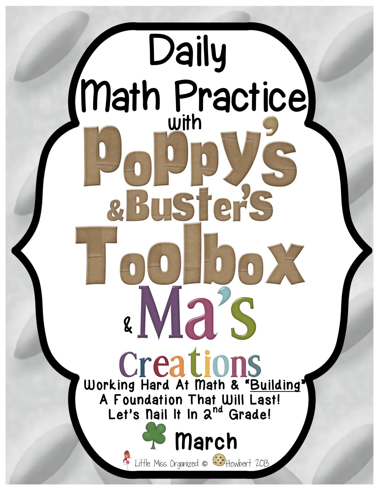 Daily Math Practice With Poppy S Toolbox Amp Ma S Creations