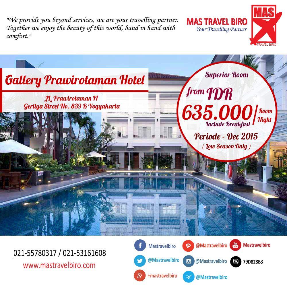 Tidur Di Gallery Prawirotaman Hotel Yogyakarta Mulai Dari Rp