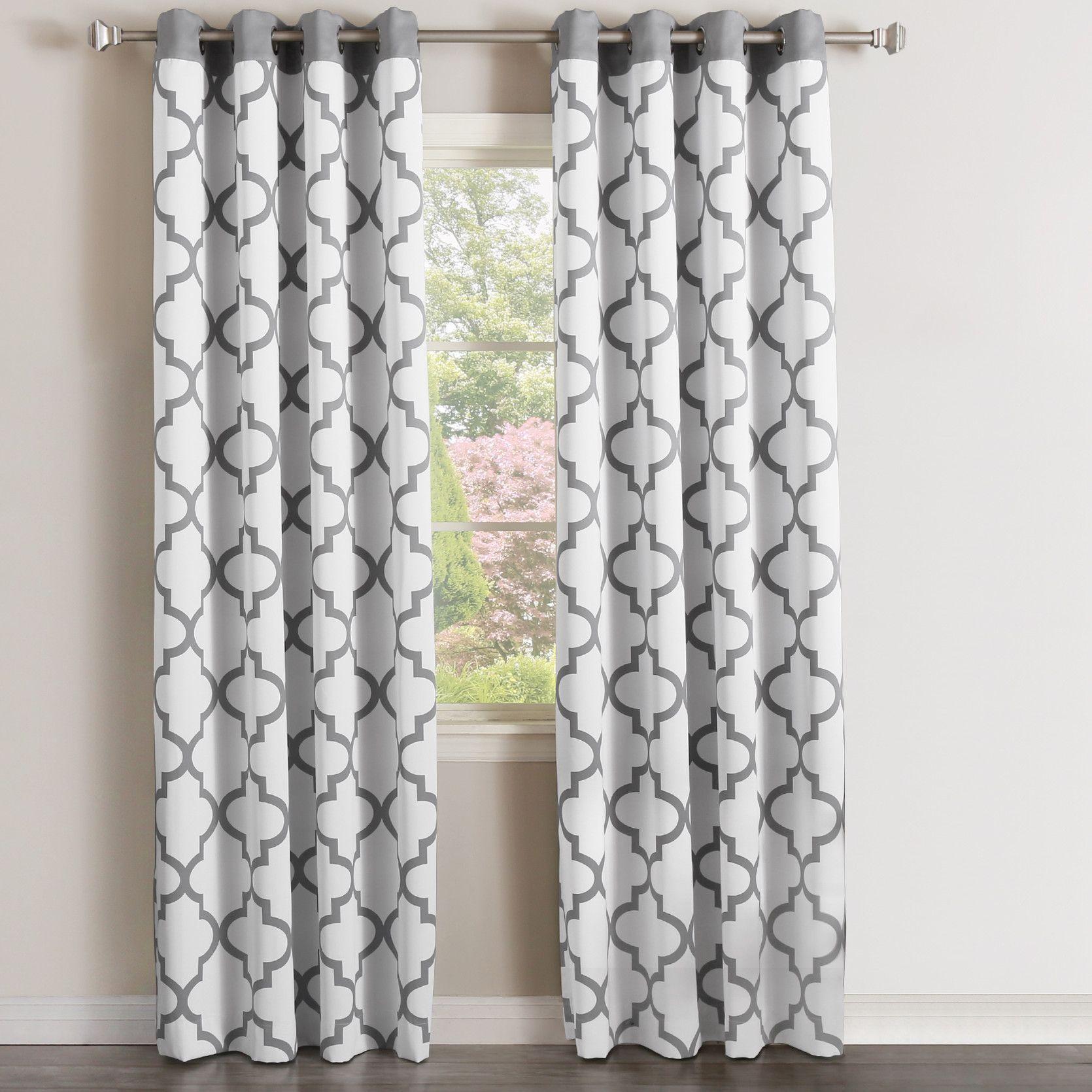 Moroccan Curtain Panel