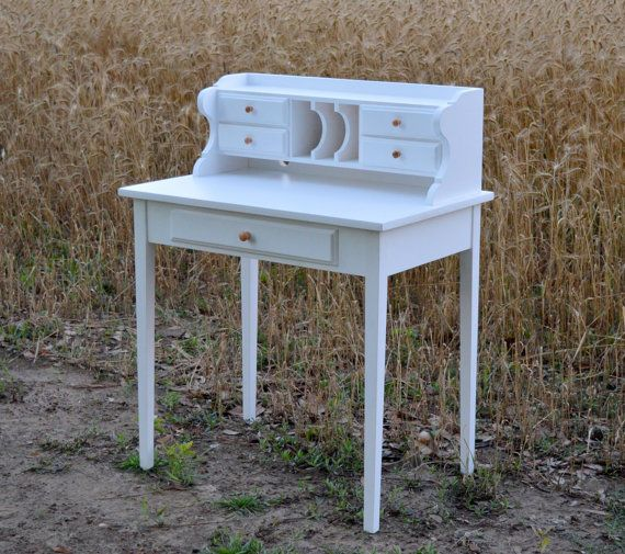 After Christmas Furniture Sales: Writing Desk White After Christmas Sale By GroversGrove On