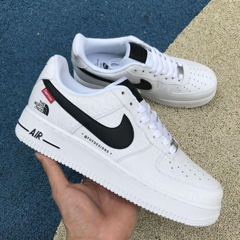 Nike Air Force 1 X Supreme X The North Face in 2019 | Shoes