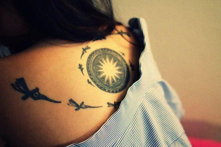 Vietnamese Traditional Symbol Tattoos For Women Small Girl Tattoos Drum Tattoo
