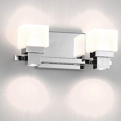 Kube bath bar vanity lightingbathroom lightingpowder roomsmantlelight fixturesopalbathroom