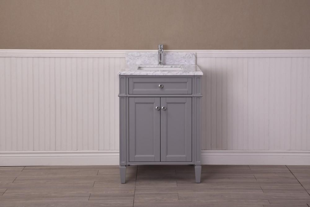 Astounding Sorel 24 Golden Elite Urban Grey Bathroom Vanity Interior Design Ideas Pimpapslepicentreinfo