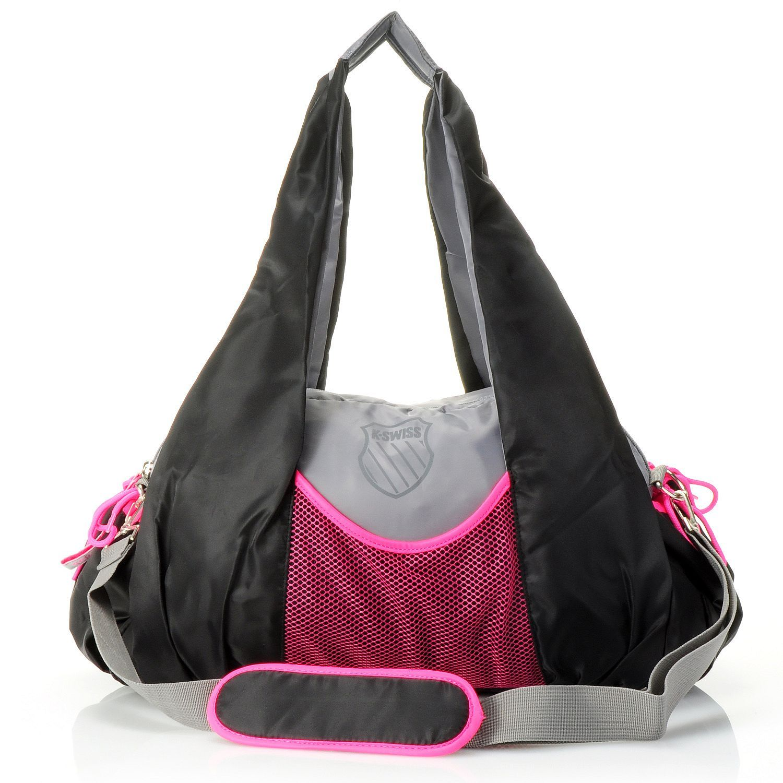 "KSwiss® ""Defination"" Large Zip Top Duffle Bag"