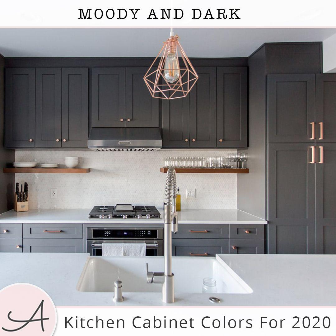 Dark Kitchen Cabinets Kitchen Remodel Design Modern Kitchen Open Concept Kitchen Remodel