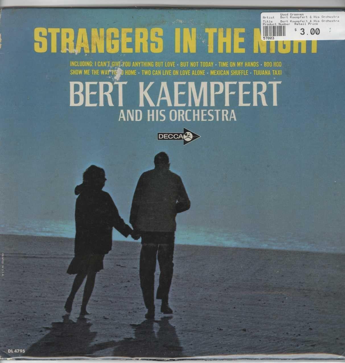 Bert Kaempfert & His Orchestra - Strangers In The Night
