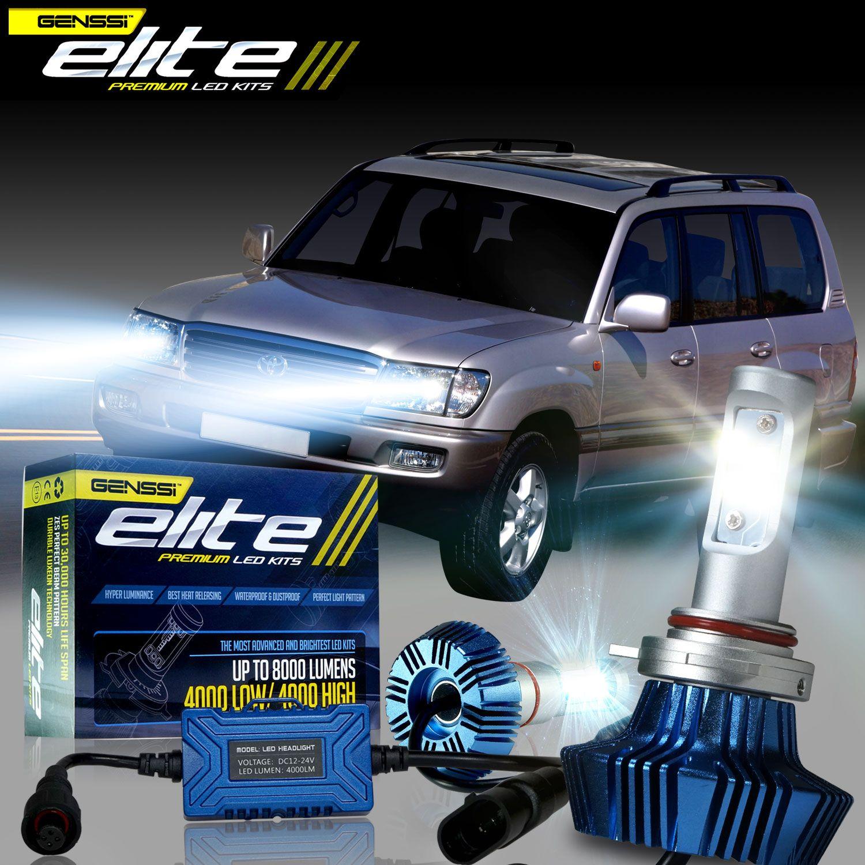 Genssi G7 Elite Led Headlight Conversion Kit 6000k Bulbs 8000lm Genssi Led Led Headlights Led Kit Headlights
