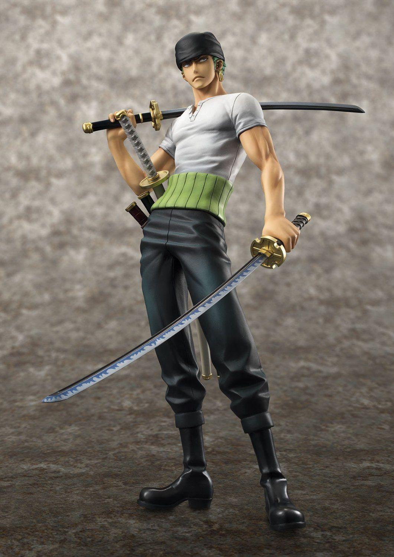 MegaHouse Roronoa Zoro Figurine POP SA-Maximum Model One Piece Collections New