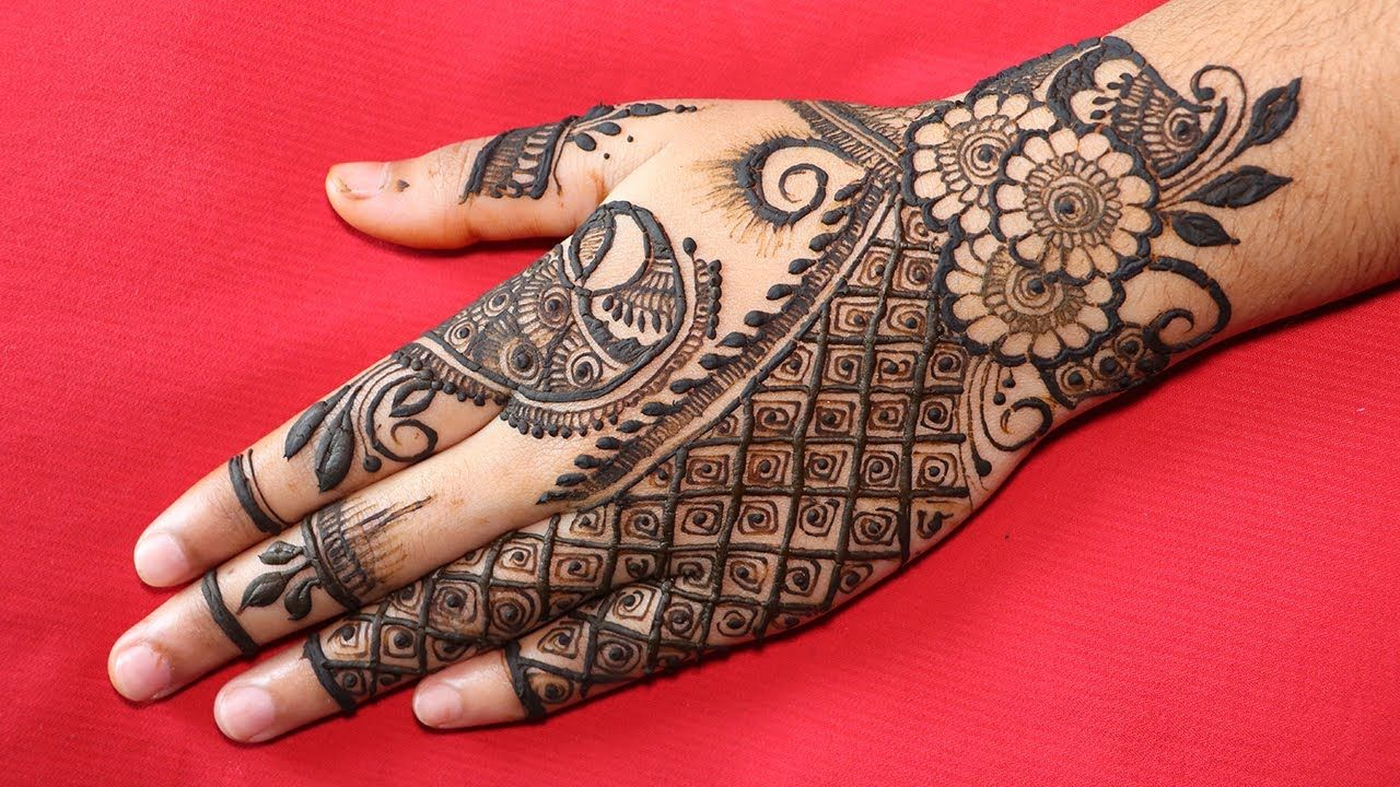 Design Henna Mehndi Design Simple Mehndi Design Mehndi Ki Design Mehndi Simple Mehndi Design Designs Mehndi Designs For Hands Mehndi Simple How To Make Henna
