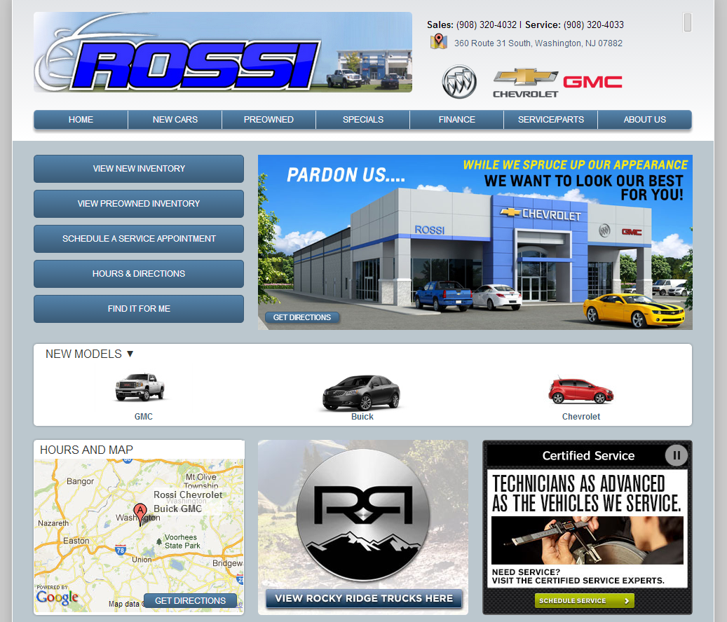 Rossi Chevrolet Buick Gmc Has Been A Vital Part Of The Community