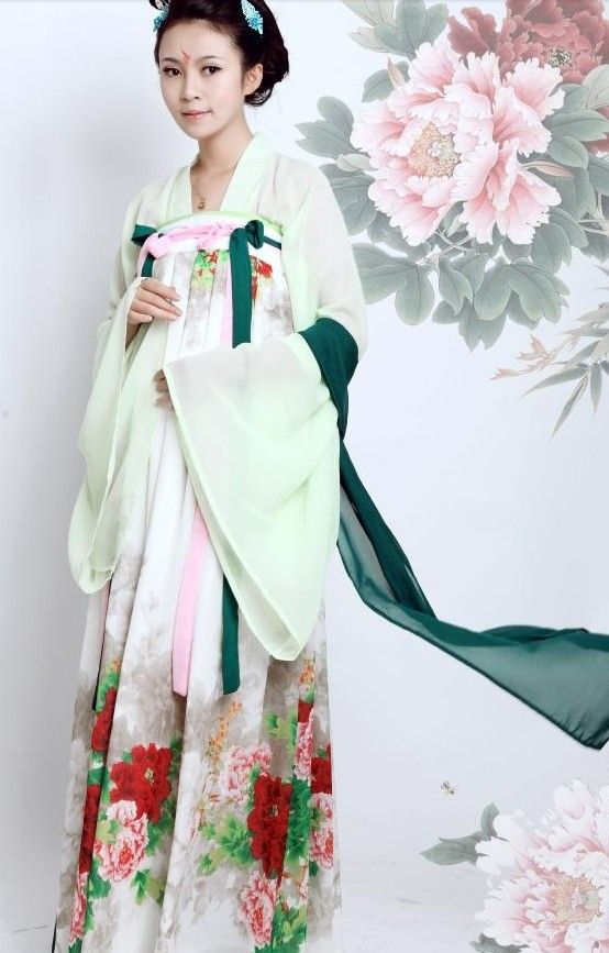 f897969fb Ancient Chinese Tang Dynasty Beauty Clothing for Women | ruqun ...