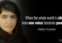 Malala Yousafzai Quotes Top 12 Most Inspiring Malala Yousafzai Quotes  Malala Yousafzai And .