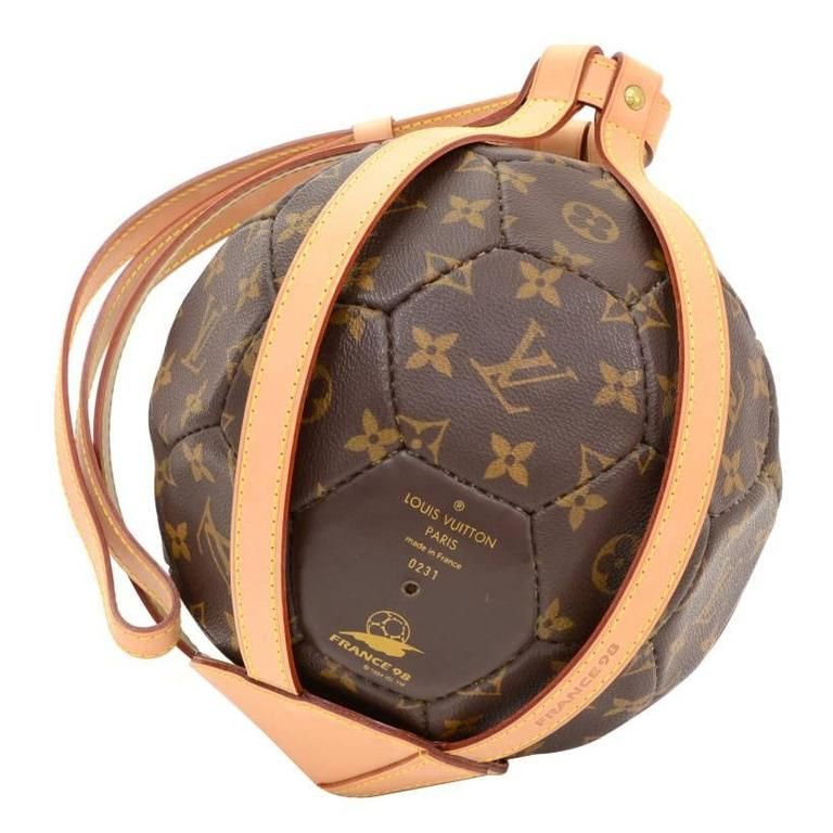 Louis Vuitton Monogram Canvas 1998 France World Cup France Soccer Ball Limited From A Collection Of Ra Louis Vuitton Monogram Louis Vuitton Monogram Canvas