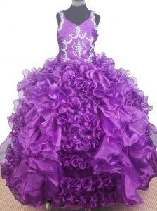 Girls Formal Dresses Clearance - ... Girls Pageant Dresses-Flower ...
