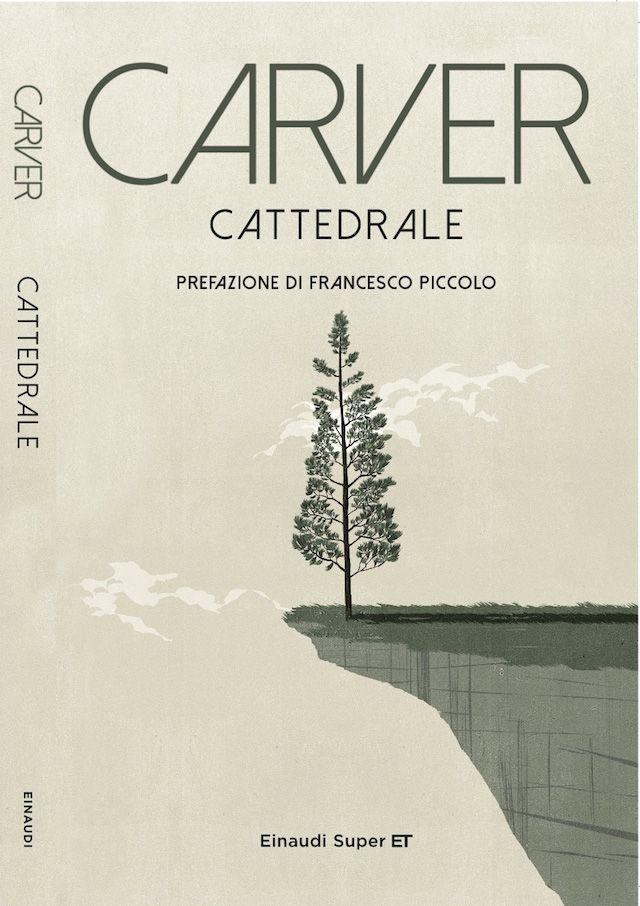 La copertina di Cattedrale (illustrazione con grafica)