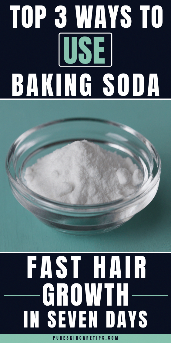 How To Make Your Hair Grow Faster With Baking Soda