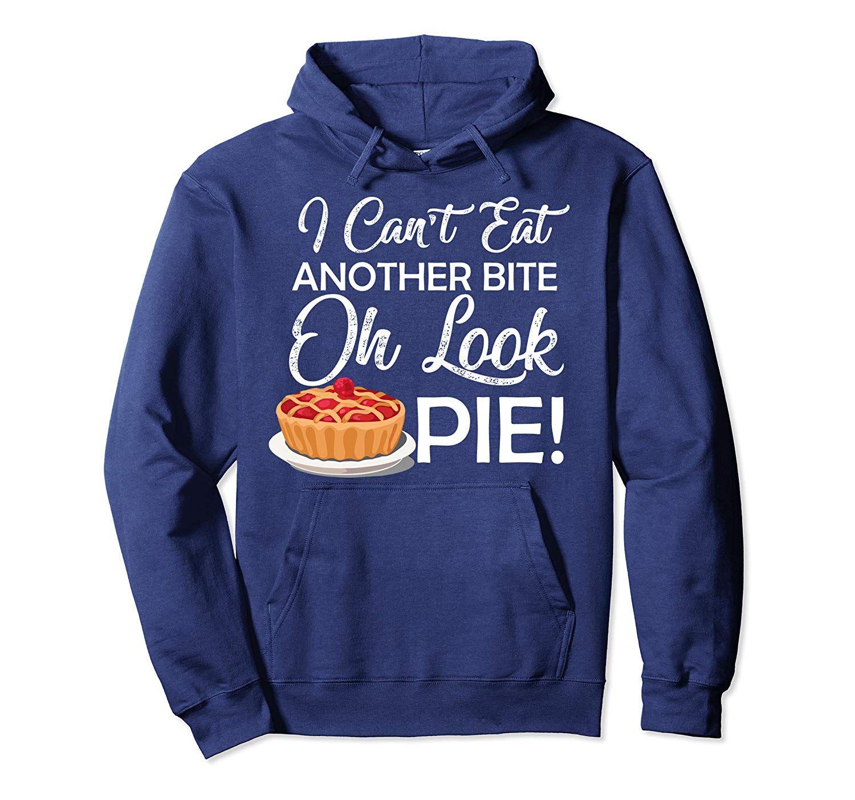 Pumpkin pie bite funny thanksgiving gift for men women Pullover Hoodie