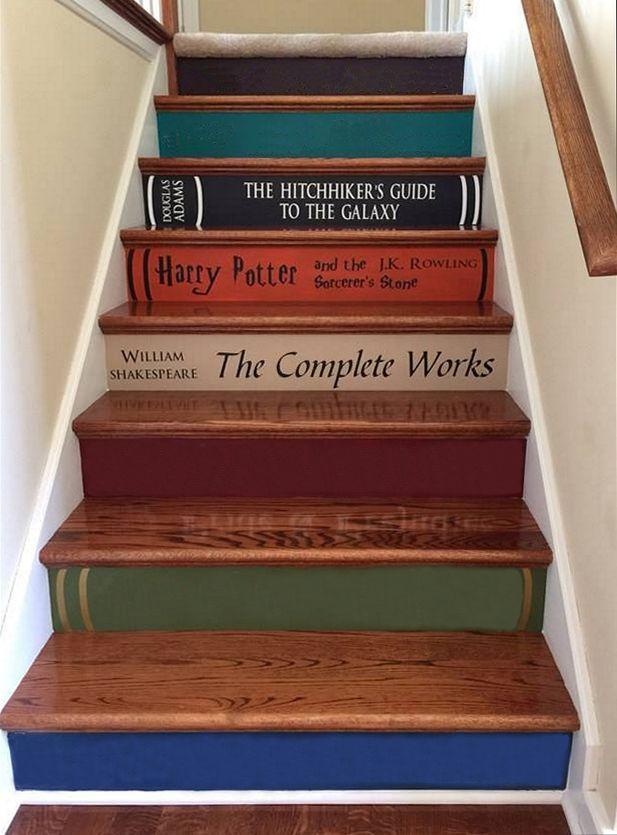 Pin von Reader Eater auf Books | Pinterest | Treppe