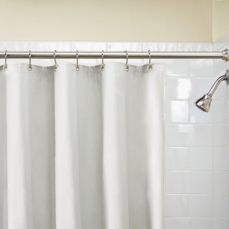 Excell Home Fashions Dual Technology Vinyl Shower Curtain Liner