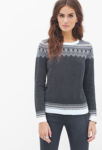 Fair Isle Striped Sweater | FOREVER 21 - 2000059887 | -[-MY STYLE ...