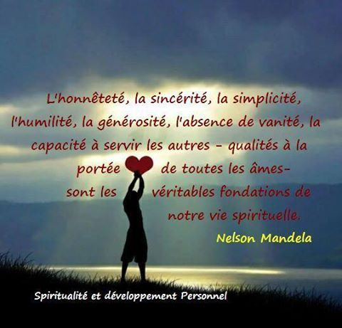 Partage Of Spiritualite Et Developpement Personnel On Facebook Vie Spirituelle Phrases Positives Spiritualite