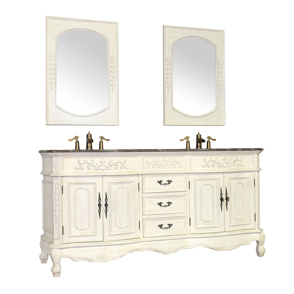 Cabinet dimension of 72 x 35 x 22 inches and the mirror dimension of ...