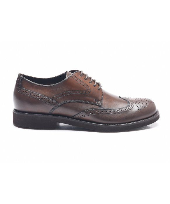 Lace Up Shoes for Men Oxfords, Derbies and Brogues On Sale, navy, Leather, 2017, 7 Tod's