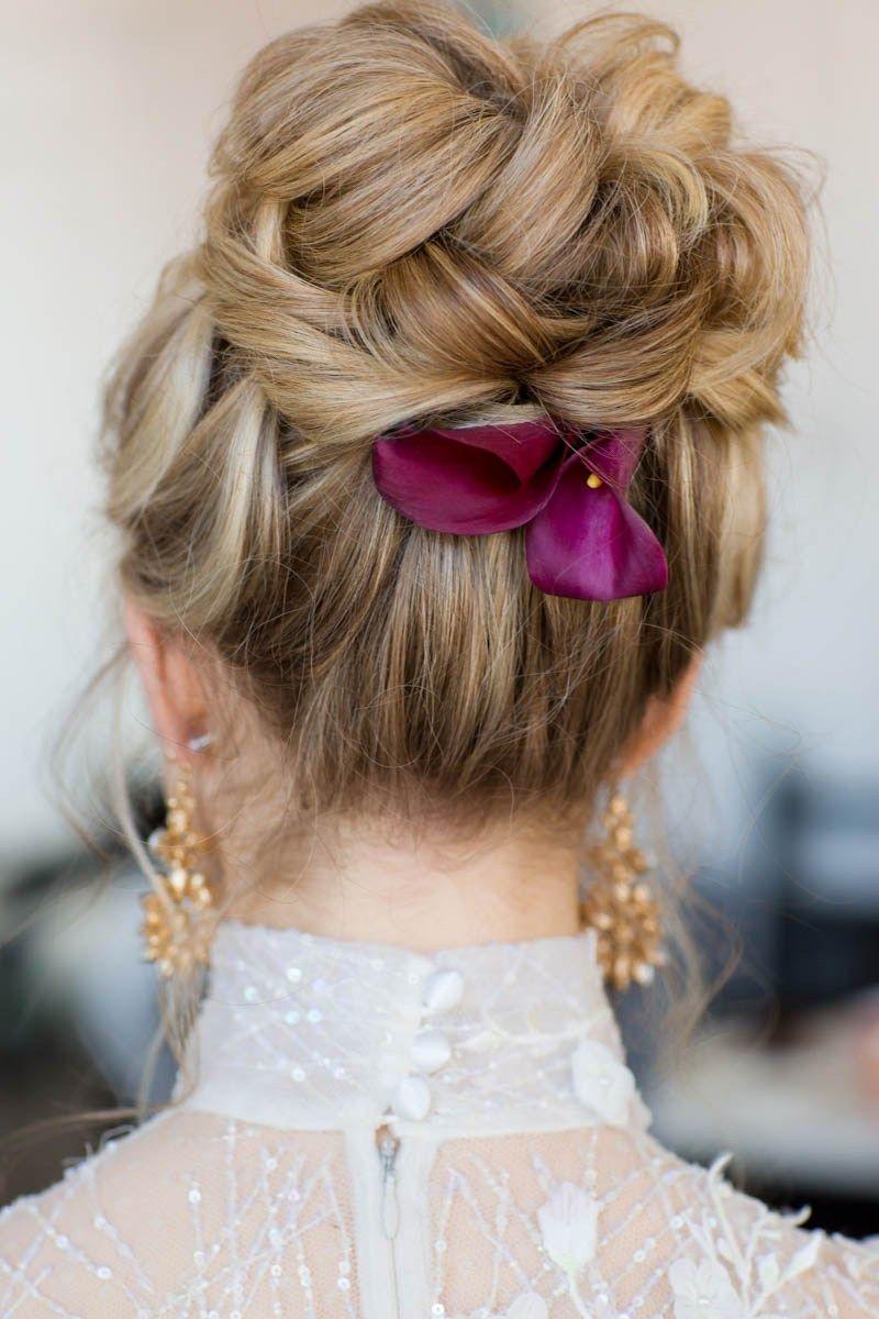 lemon yellow wedding ideas | hair | wedding hairstyles