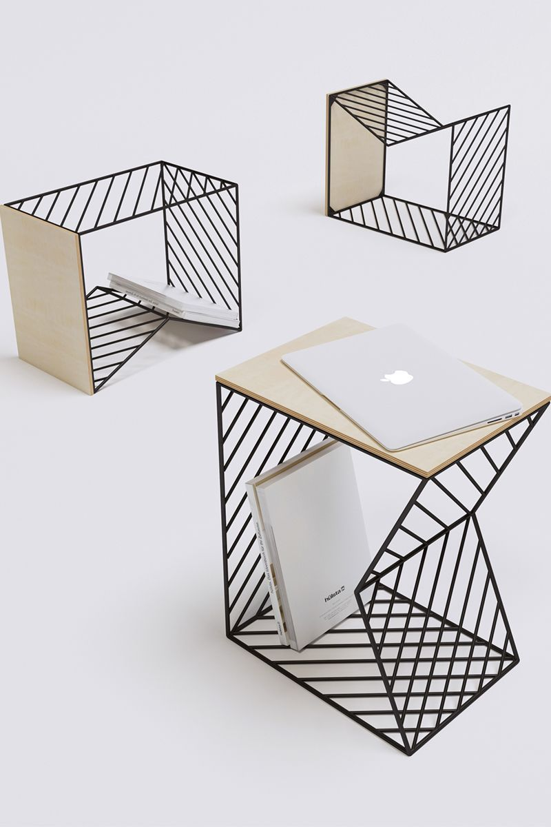 Bedside Table La Table De Chevet De Fail Gilmanov Design  # Muebles De Zoita