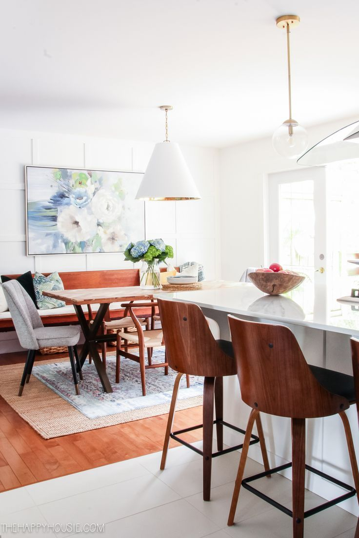 modern boho farmhouse dining room before after makeover reveal source guide dining room on boho chic dining room kitchen dining tables id=86978