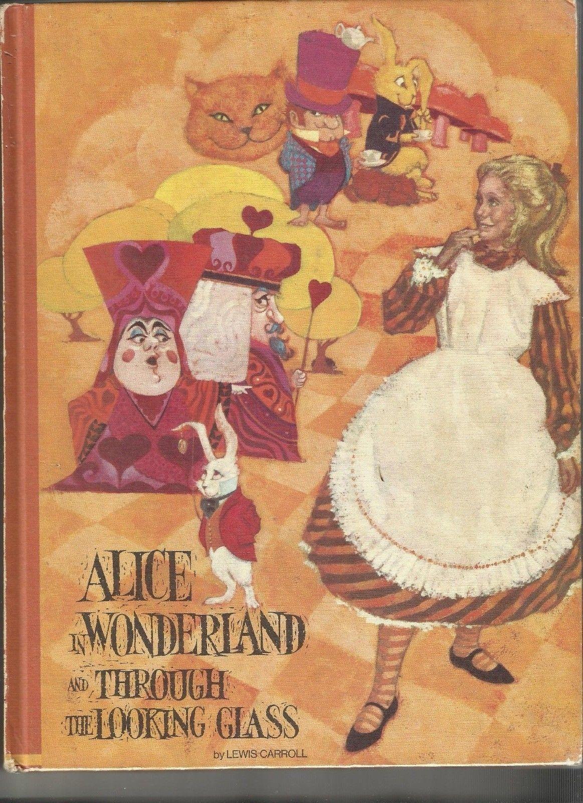 Alice In Wonderland 1970 Hardcover Educator Classic