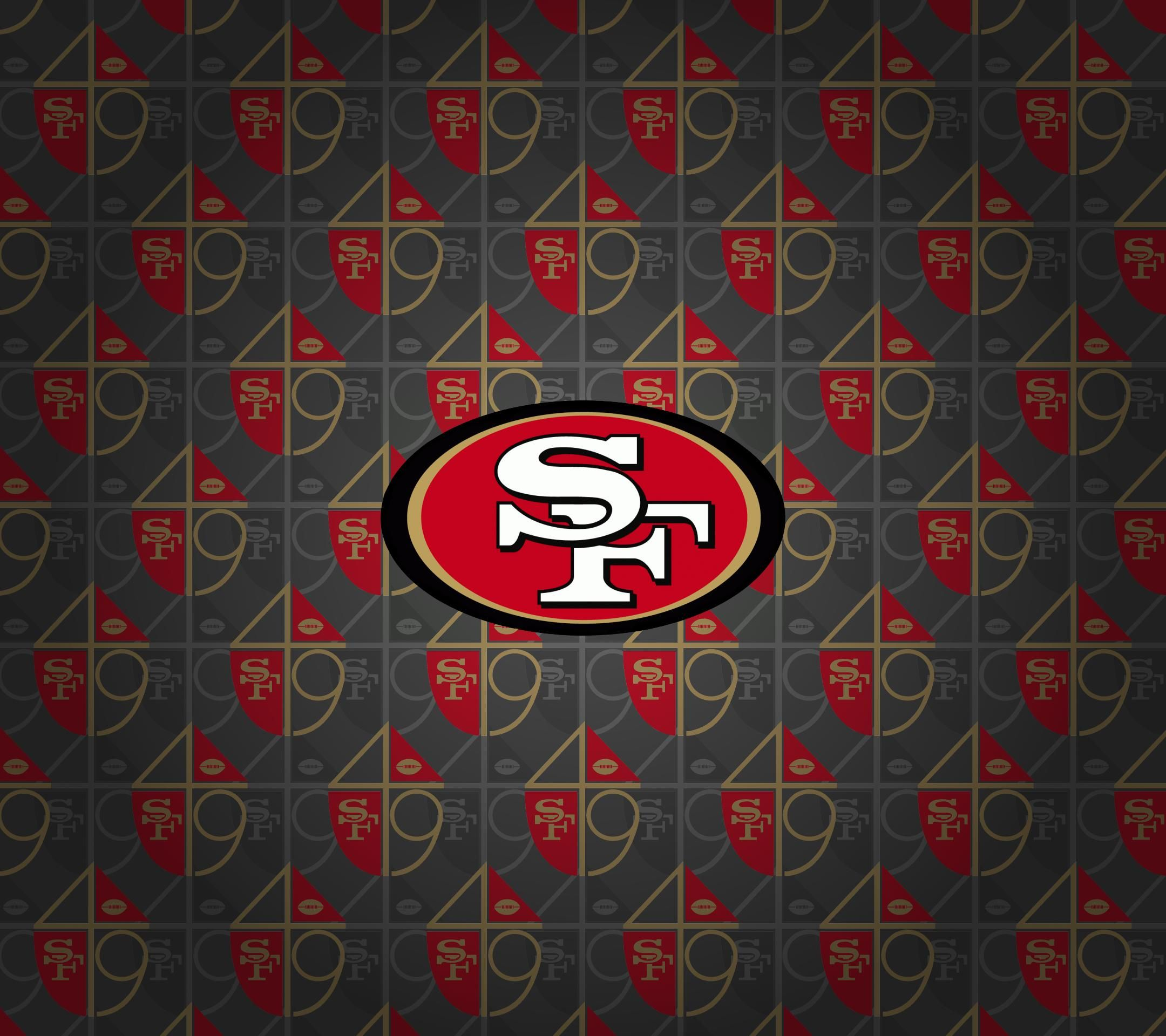 San Francisco 49ers Logo HD Wallpapers (With images) San