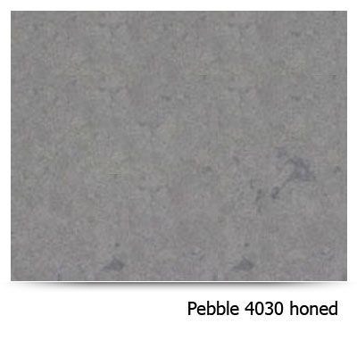 Quartz-Caesarstone-Deep-gray-pebble-4030-honed  Counter master bath, shelf in shower