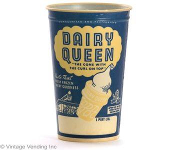 Dairy Queen Retro Paper Cup