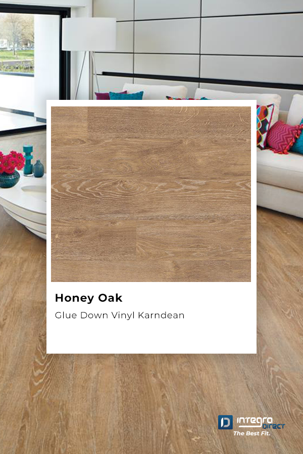 Karndean Van Gogh Integra Direct The Honey Oak Displays A Reclaimed Timber Look In A Light Golden B In 2020 Floor Colors Diy Flooring Loose Lay Vinyl Flooring
