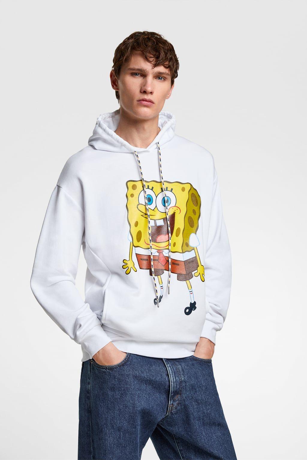 Sudadera Bob Esponja C Nickelodeon Sweatshirt Hoodie Sweatshirts Kapuzenpullover
